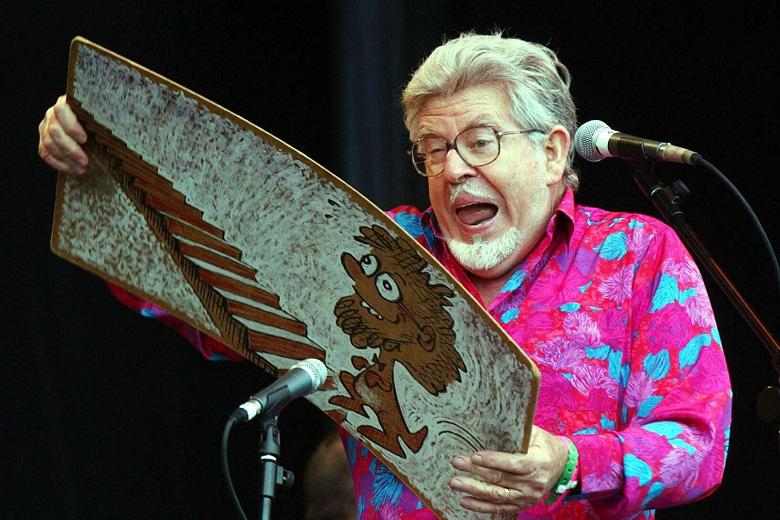 Shamed TV star Rolf Harris 'writing song about accusers'