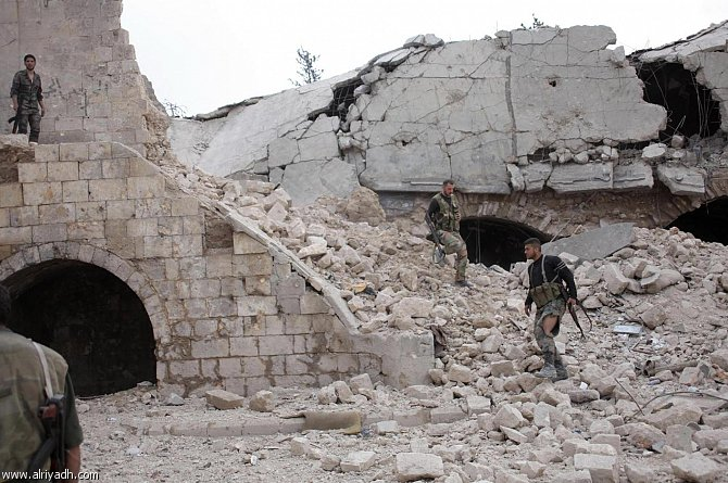 Islamist alliance in battle for Syria's Aleppo