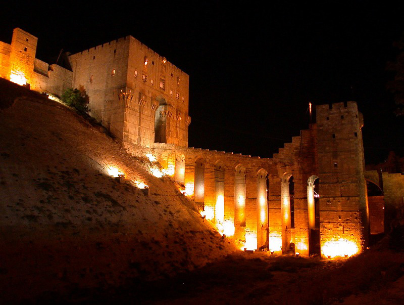 Blast damages citadel wall in Syria's UNESCO-listed Aleppo