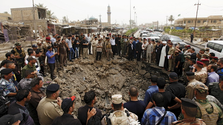 Toll soars to 90 after IS bomb guts Iraq town