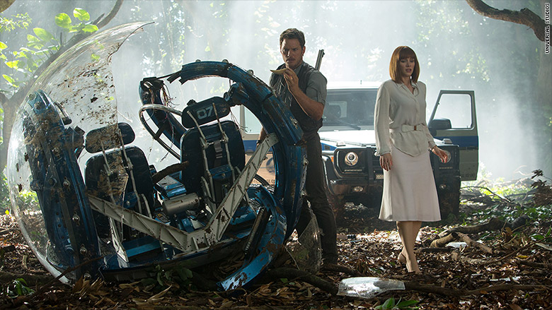 'Jurassic World' is third biggest box office hit ever