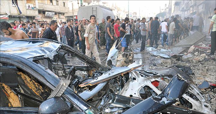 Syria regime air raids, rebel fire on Damascus kill 50: monitor
