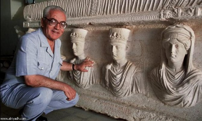 IS beheads elderly ex-antiquities chief in Syria's Palmyra
