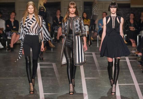 Givenchy plans rare sashay down New York runway