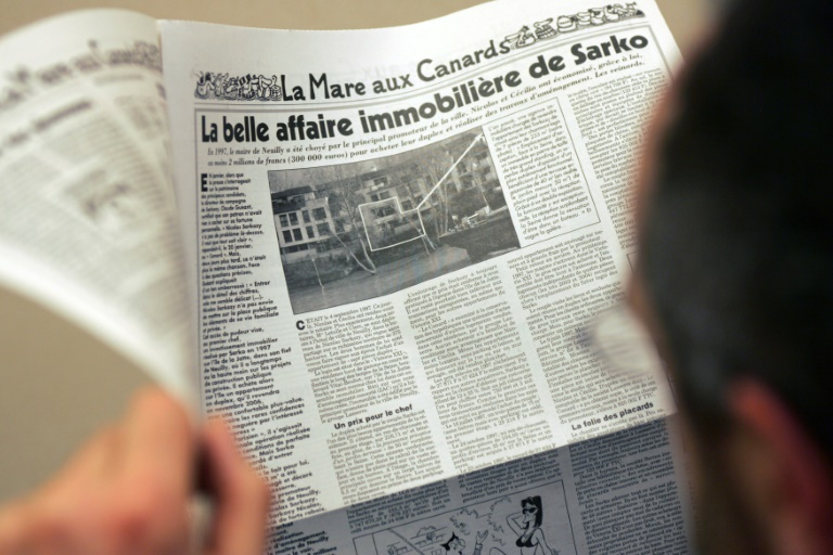 Feared and revered: France's Canard Enchaine satirical weekly turns 100