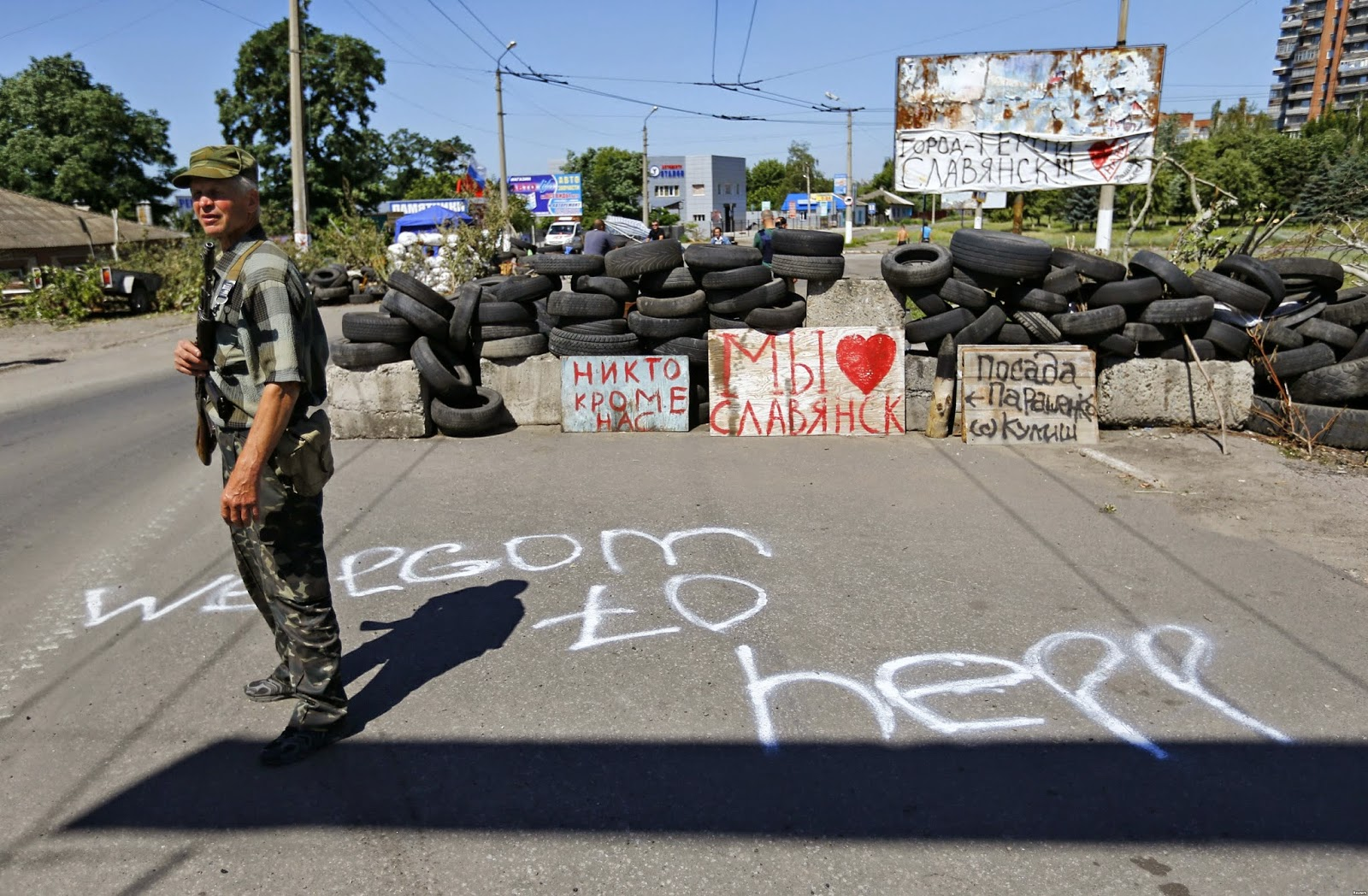 Diary chronicles life under fire in separatist Ukraine