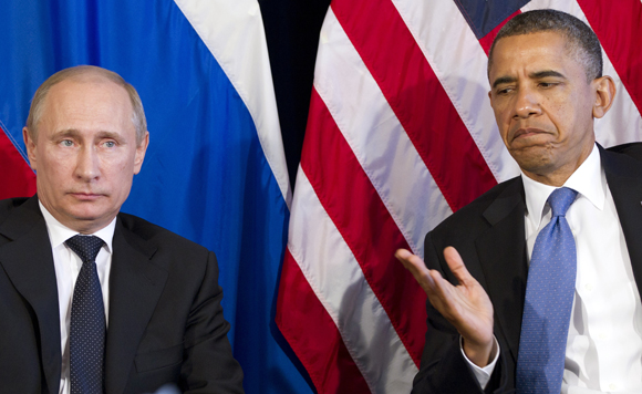 Russia hits Syria, Obama warns action a 'recipe for disaster'