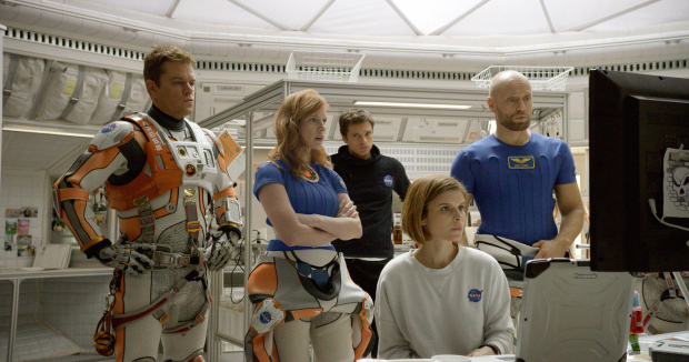 'The Martian' rockets to top of N. America box office