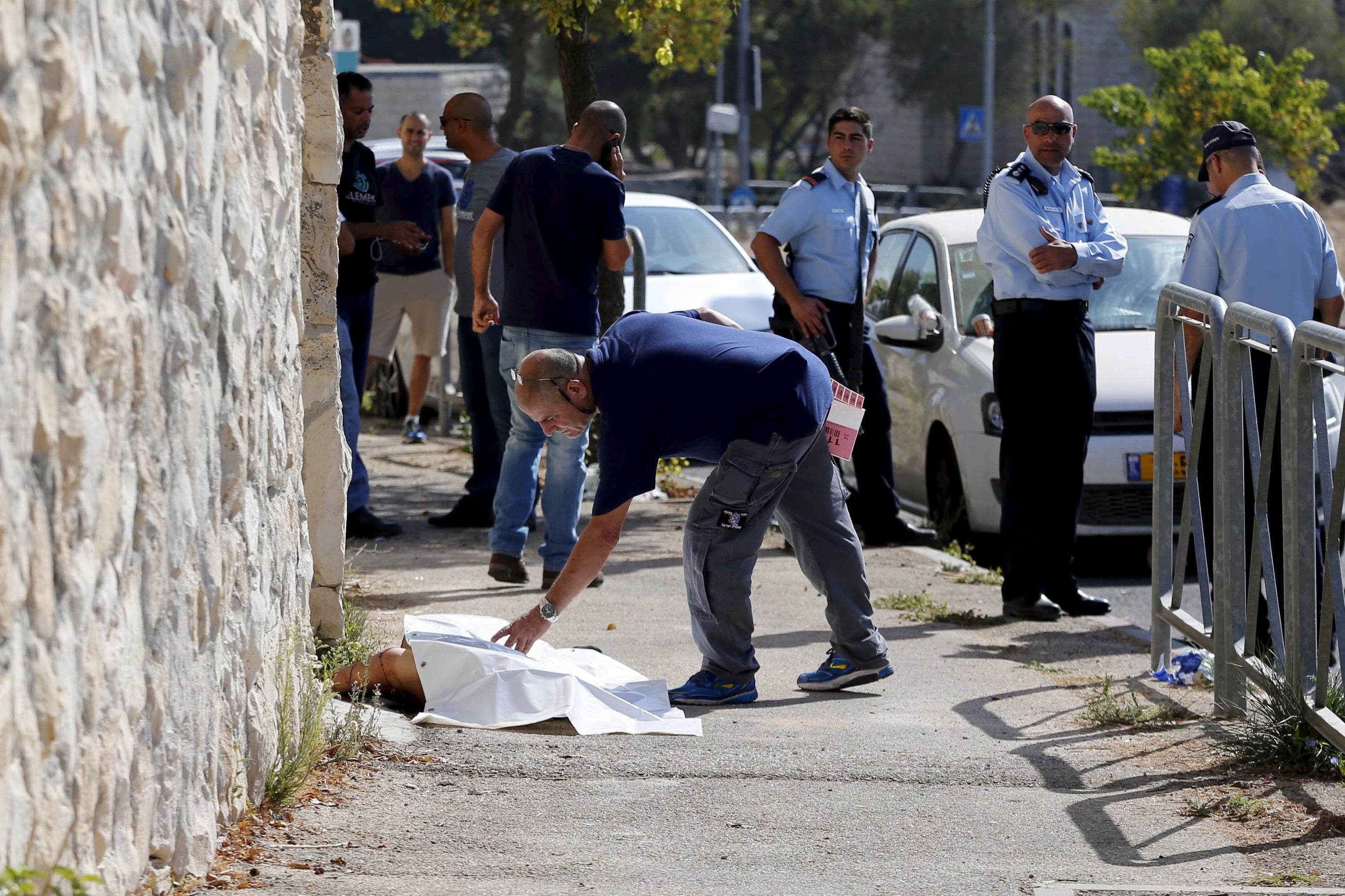 Four Palestinians killed in anti-Israeli knife attacks