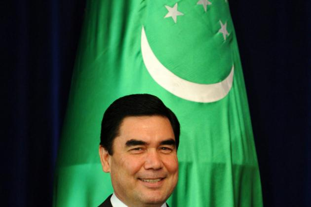 Turkmenistan president makes poetic debut