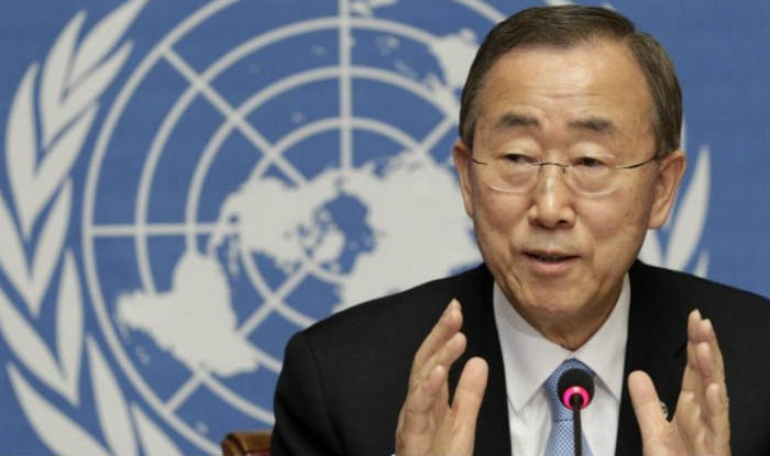 Western trio seeks UN action on Syria barrel bombs
