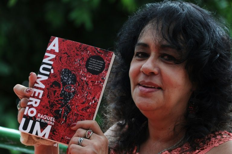 From slum to bookshop, Brazil drug queen turns writer