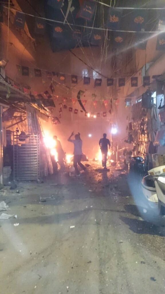 Twin blasts claimed by IS kill 41 in Beirut Hezbollah bastion
