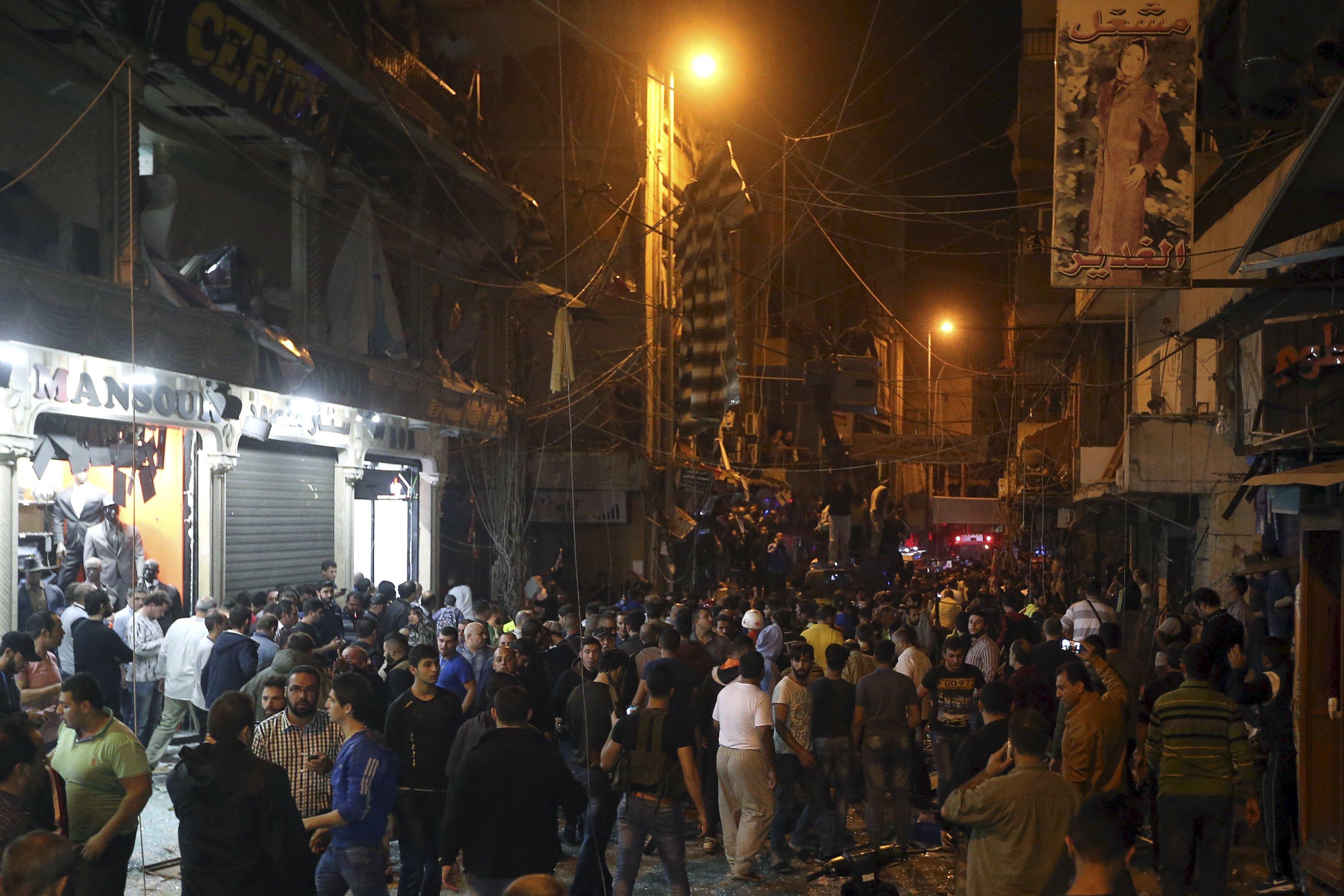 Lebanon arrests 11 over Beirut bombings
