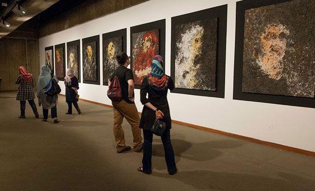 Warhol, Pollock, Rothko on rare display in Tehran