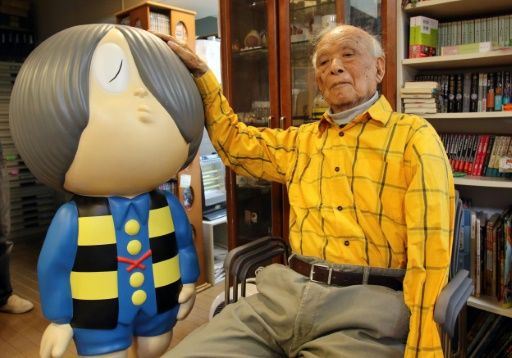 Japanese manga artist Mizuki dies at 93