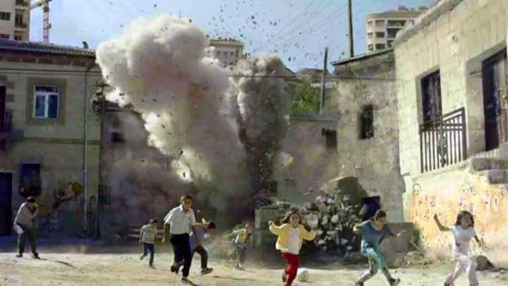 Suspected Russian raids in Syria kill 36