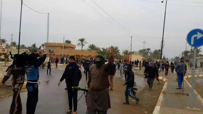 Iraq forces extend Ramadi control, rescue civilians