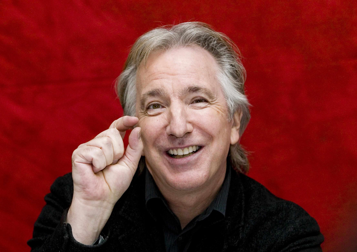 Harry Potter fans raise a wand to late actor Rickman