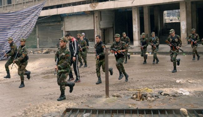 Pro-regime forces brace for assault to seize Aleppo