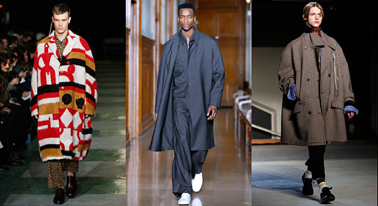 Trousers go baggy as Paris men's fashion gets supersized