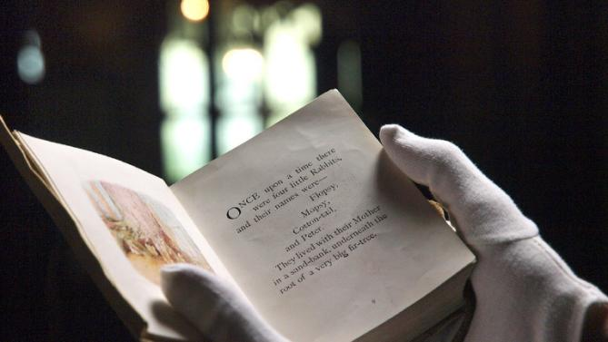 Lost Beatrix Potter children's story uncovered a century on