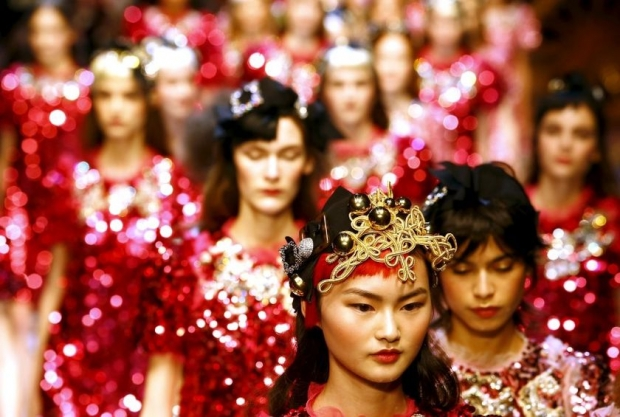 Dolce and Gabbana put fairytale back into fashion