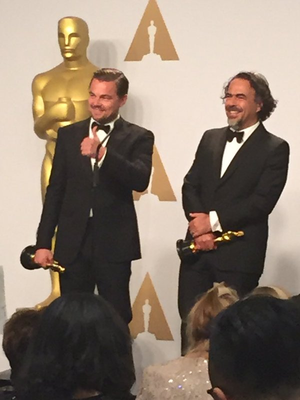 'The Revenant' leads charge at 'whitewashed' Oscars