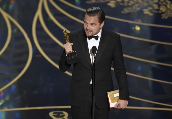 DiCaprio finally wins Oscar, 'Spotlight' grabs best film