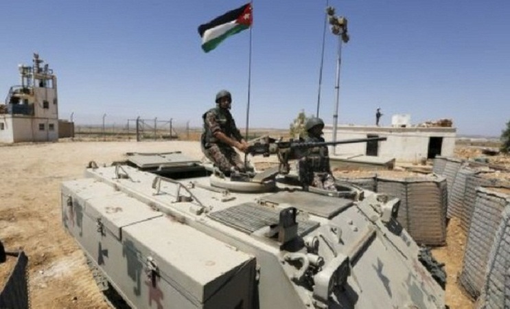 Jordanian security forces clash with gunmen near Syria border