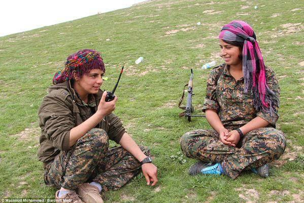 US says would not recognize Kurdish region in Syria