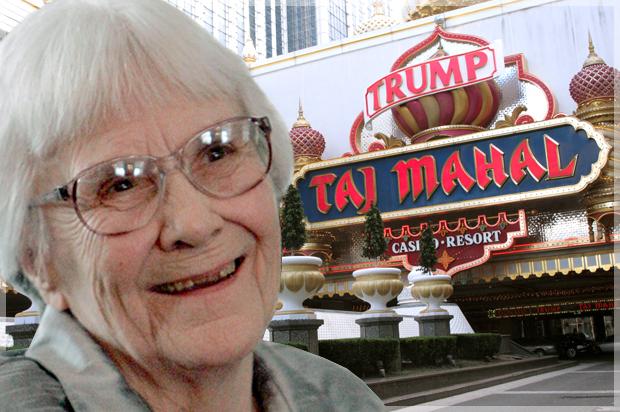 Harper Lee hated Trump's Taj Mahal resort, letter reveals