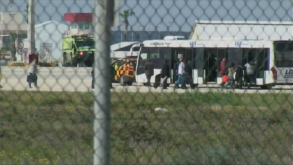 Hijacker surrenders after Cyprus airport standoff