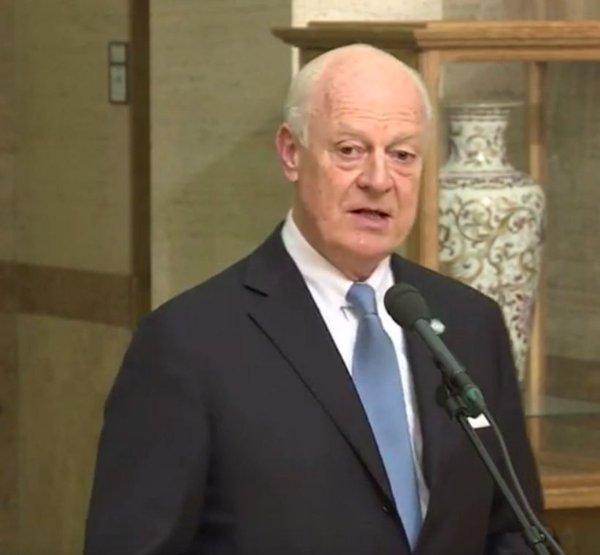 UN envoy says next phase in Syria talks 'crucial'