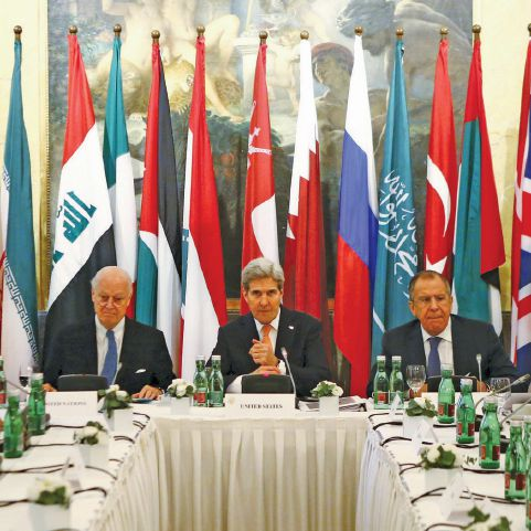 World powers meet to save Syria peace hopes
