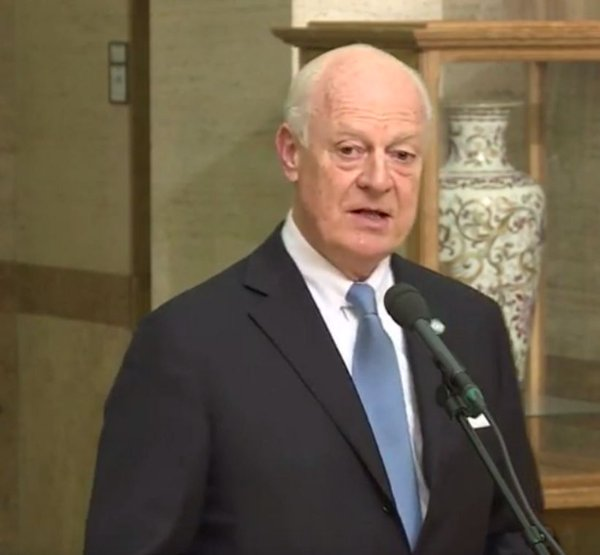 Syria talks must happen 'soon to keep momentum': UN envoy
