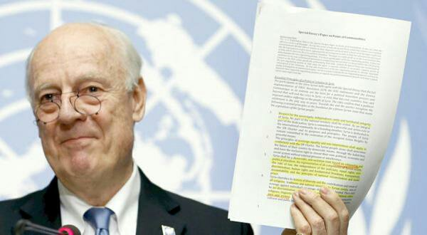 UN envoy says no new Syria talks in next two-three weeks