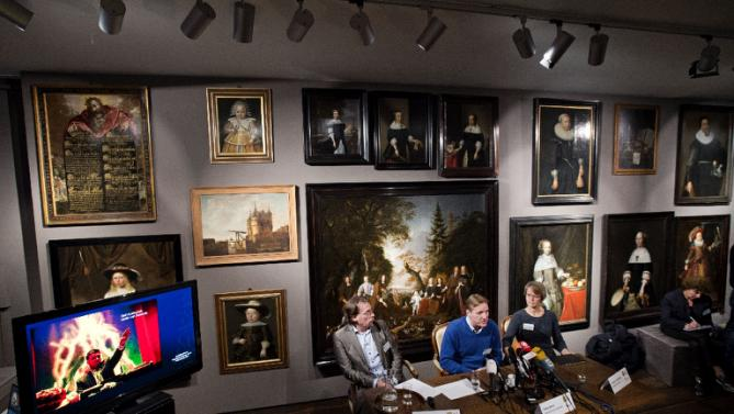 Ukranian art buyer hands back stolen Dutch masterpiece