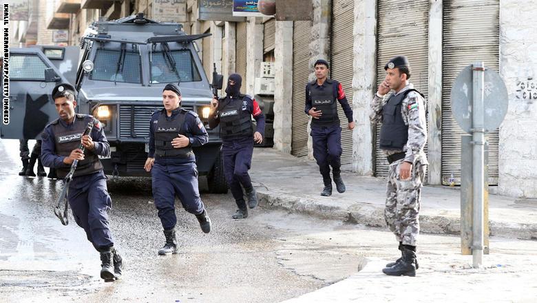 Suspect held over Jordan 'terror attack'