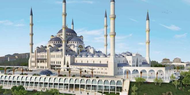 Istanbul's vast Camlica mosque holds first prayers