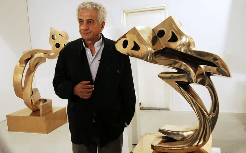 Top Iran sculptor says accused of 'disturbing public peace'