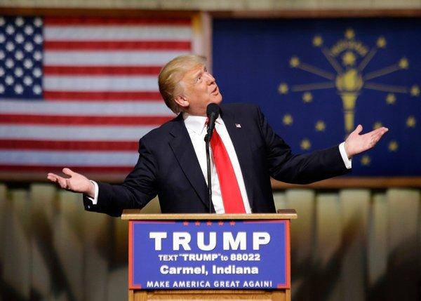 Democrats skewer Trump's past in Cleveland 'museum'