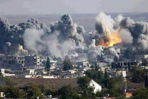 US-led strikes kill 56 civilians in Syria: monitor
