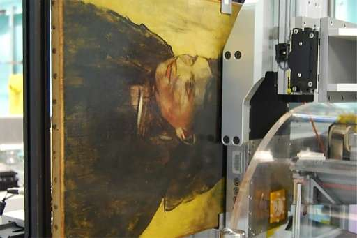 Science unmasks the woman Degas painted over