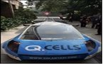 UN chief commutes to work aboard solar-powered taxi