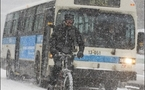 Winter cycling cool in Quebec