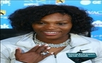 Serena dazzles with diamond serve