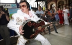 Elvis fever shakes, rattles and rolls Australian town