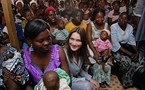 French first lady on AIDS trip to West Africa