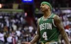 NBA: Boston's Thomas fined for cursing at heckler